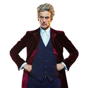 Peter Capaldi Maroon Velvet Coat