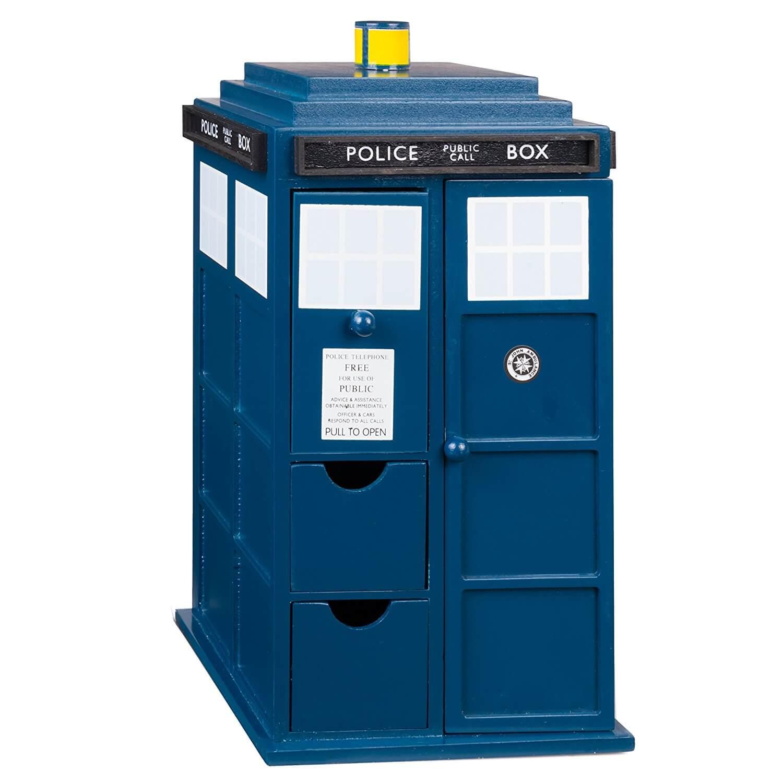 Doctor Who Tardis Wooden Jewelry Box