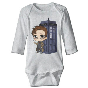 Doctor Who Newborn Baby Sleeping Suit