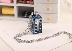 TARDIS 'Public Call Office' Necklace