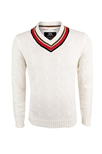 Fifth Doctor (Peter Davison) Sweater - Doctor Who Cricket Jumper