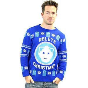 Cybermen Ugly Sweater Men