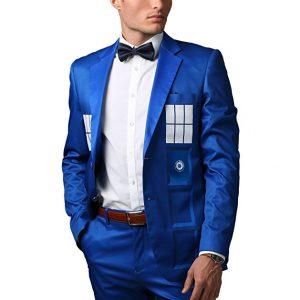 TARDIS themed formal suit